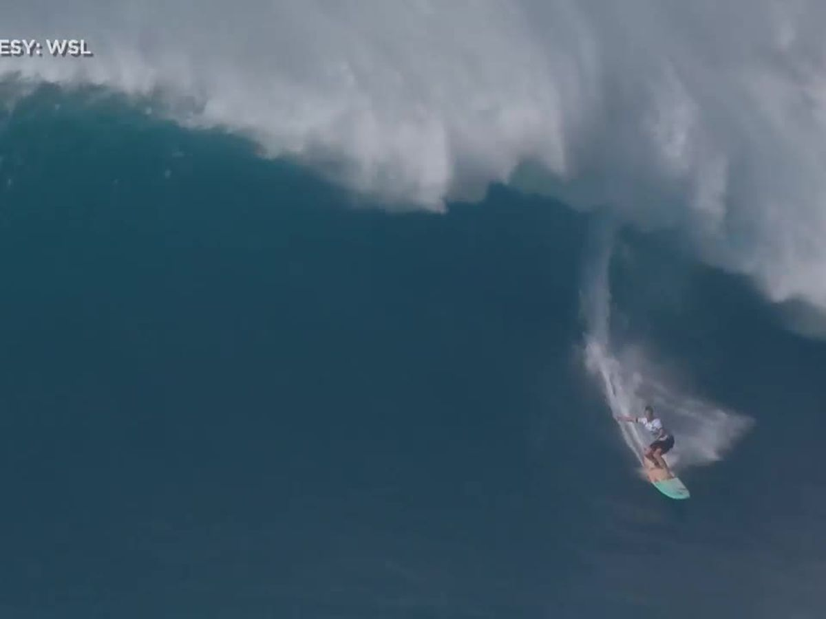 A pair of local surfers take home top prizes for the 2020 Red Bull Big Wave Awards