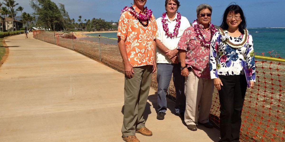 Pono Kai seawall repairs complete