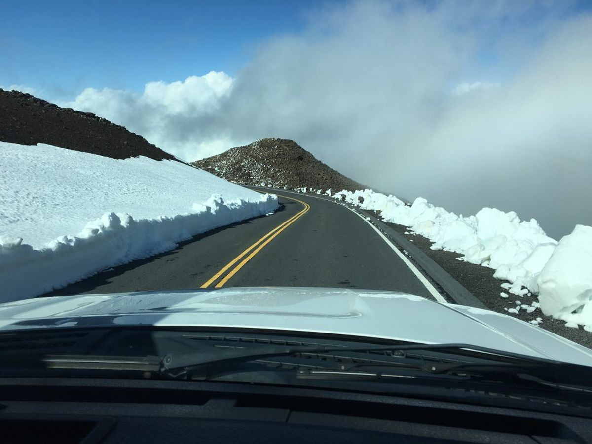 Another Half Foot Of Snow Expected To Fall At Big Island