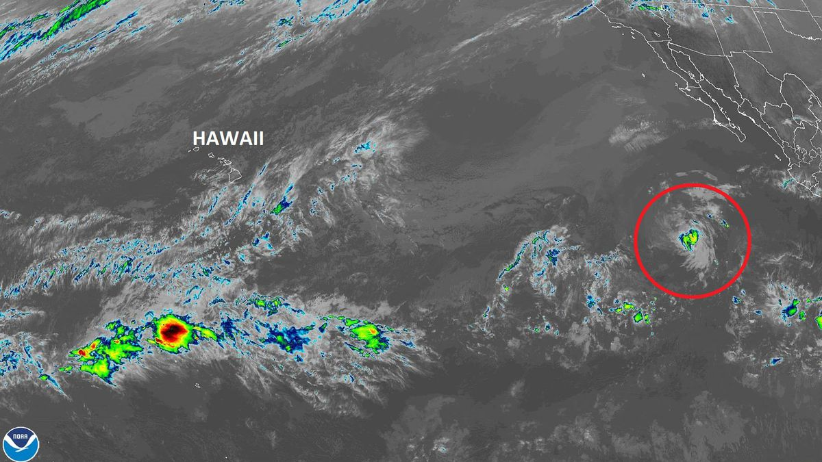 Earliest recorded (but short-lived) tropical depression in East Pacific now a remnant low