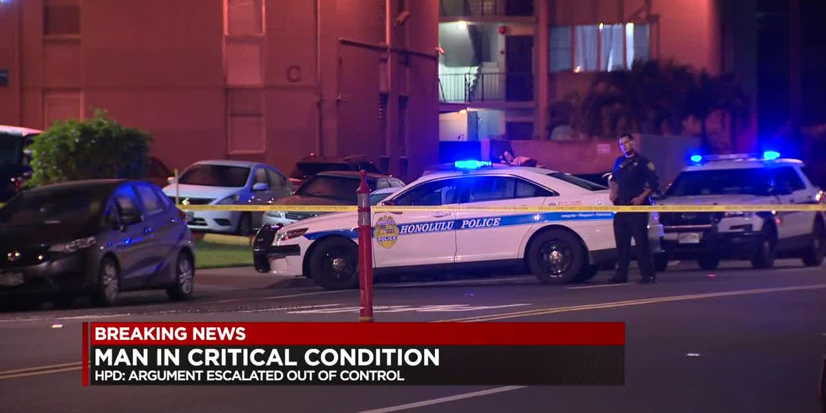 HPD searching for suspects after shooting in Waipahu leaves man in critical condition