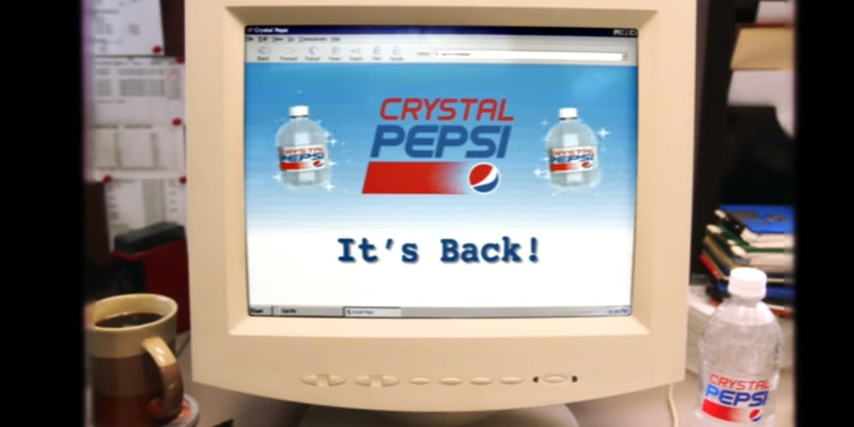 Crystal Pepsi returns after more than 2 decades