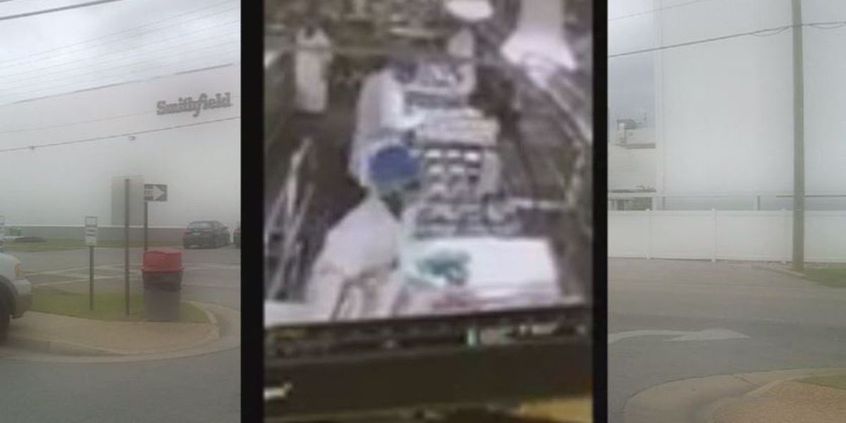 Worker pees on production line at pork processing plant, company throws out 50,000 pounds of meat