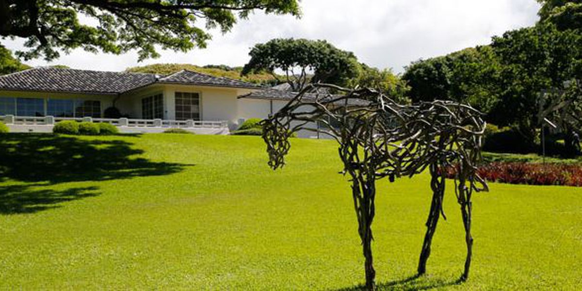 A picturesque Makiki Heights home with ties to art is going up for sale