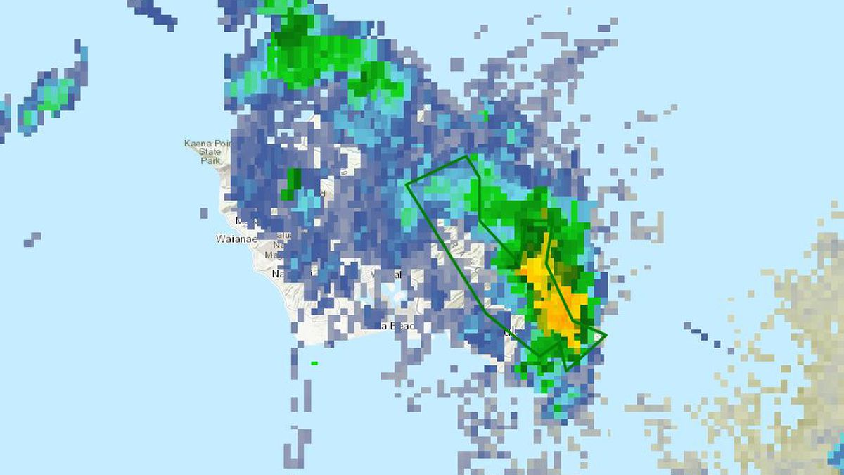 Flood advisory for parts of Oahu canceled after rain lets up
