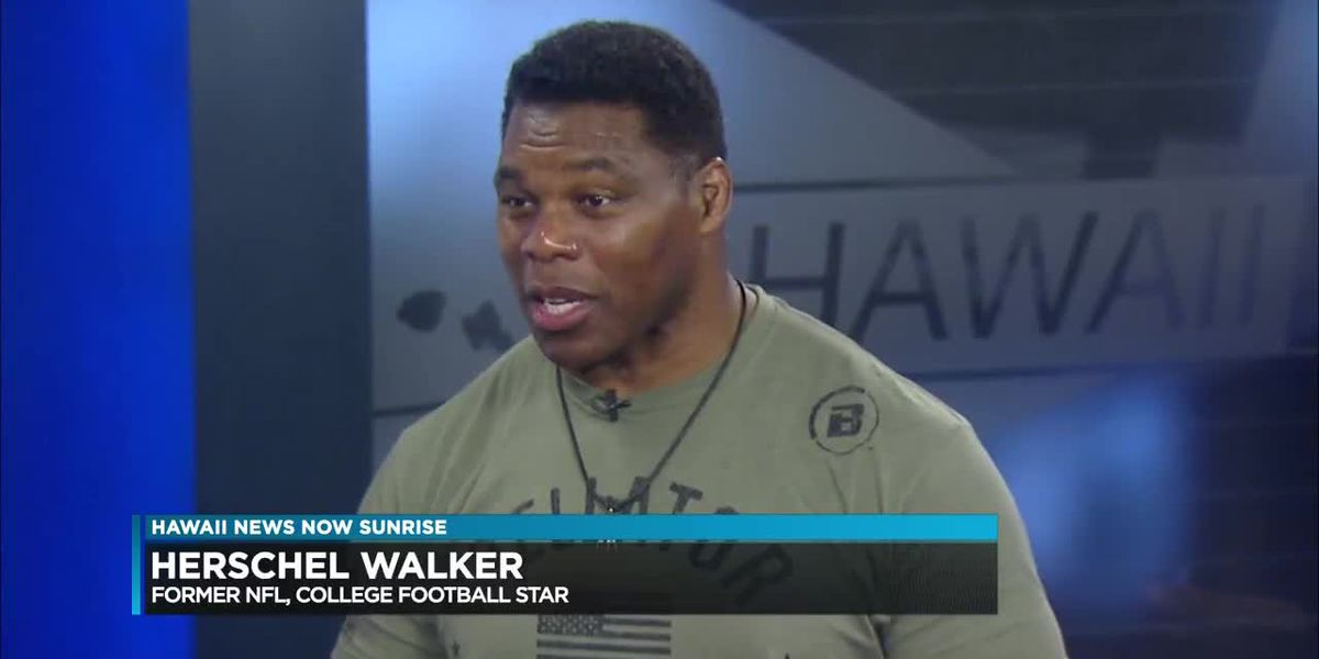 Football legend Herschel Walker back in Hawaii to promote Bellator events