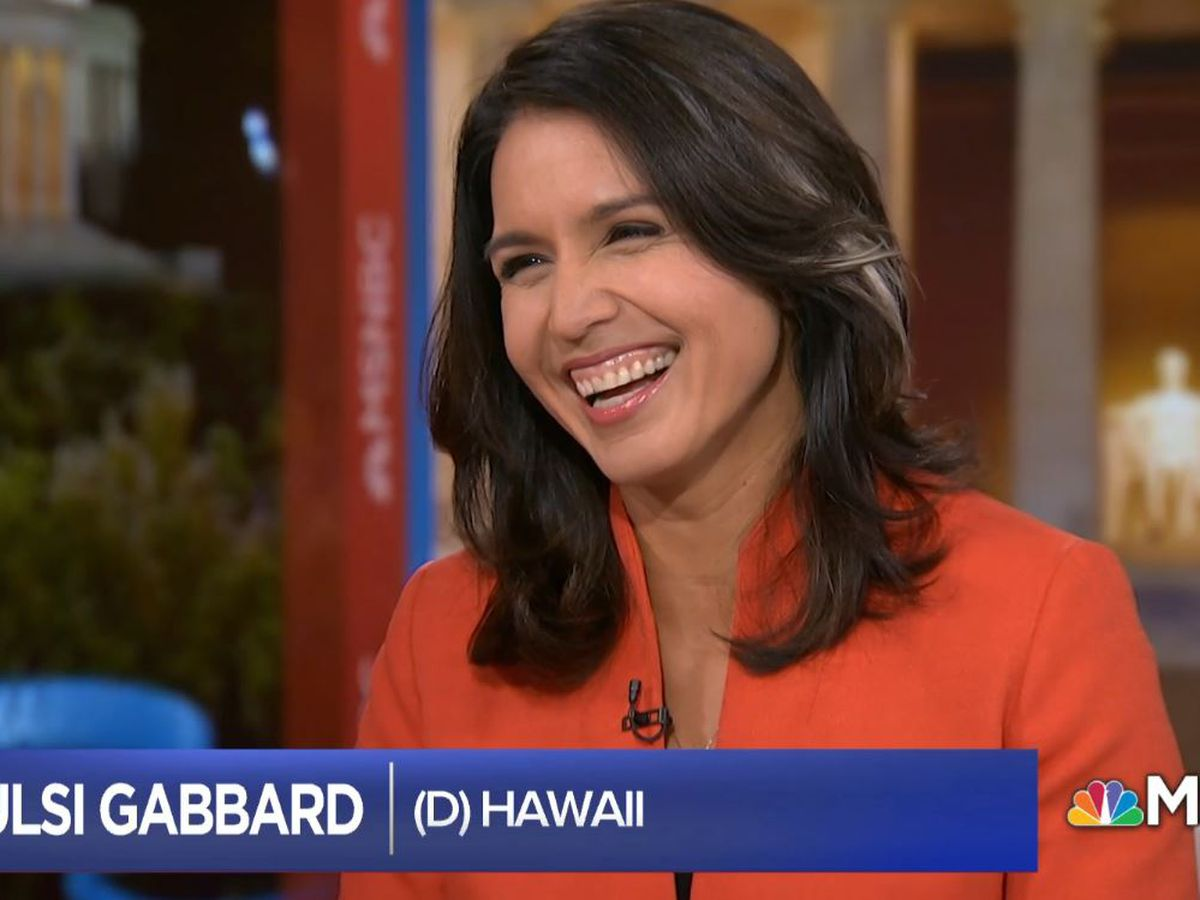Tulsi for president in 2020? She's thinking about it