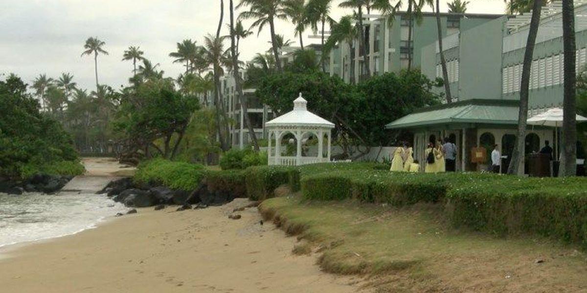 Kahala residents fear hotel's beach wedding venue plans would privatize shoreline