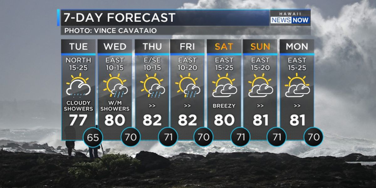 Forecast: Blustery weather continues today, drier tomorrow