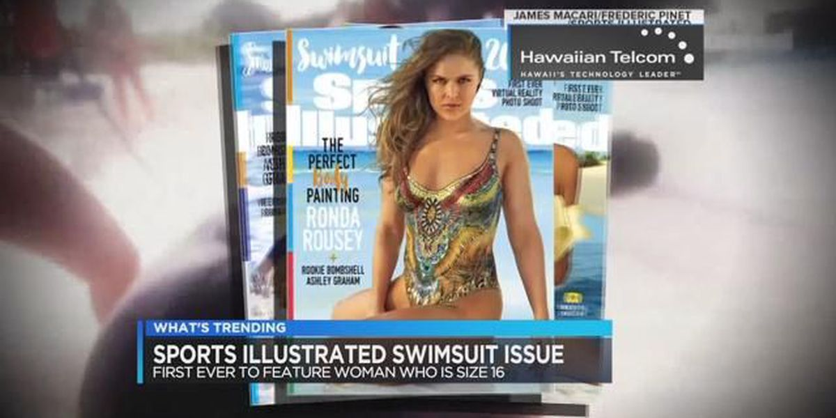 What's trending on 2/15/16 - Sports Illustrated swimsuit models and throwing eggs