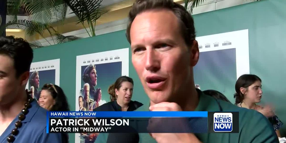 Stars hit the red carpet at Pearl Harbor for 'Midway' film