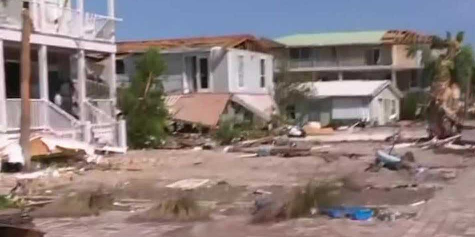 Florida beach town devastated by Hurricane Michael