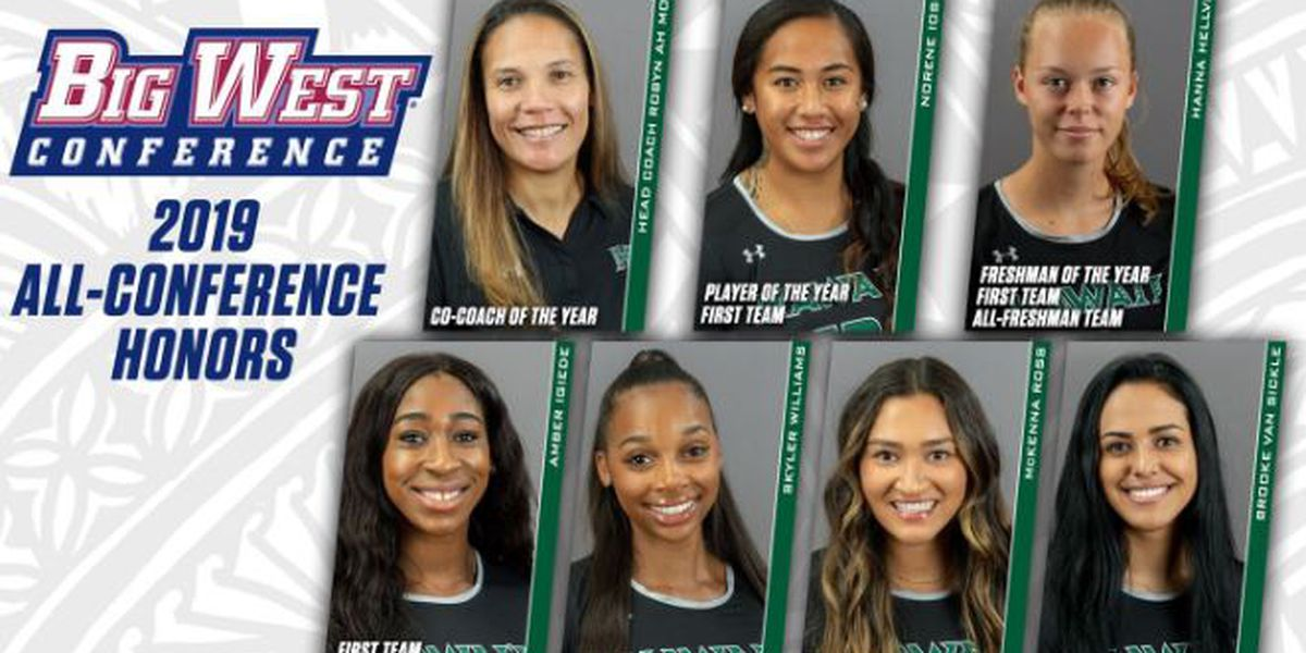 Iosia wins player of the year, as Wahine sweep Big West top awards
