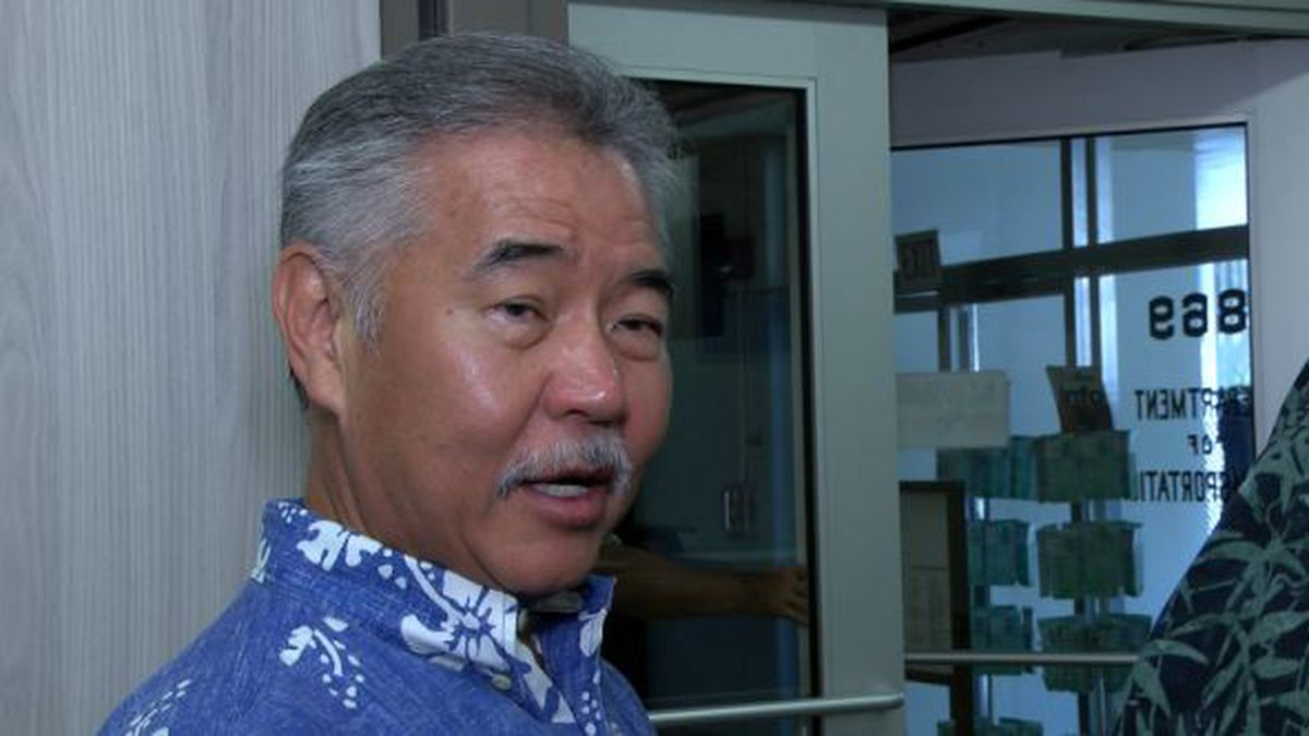 After weeks of mostly silence on TMT, Ige offers no details on how conflict will be resolved