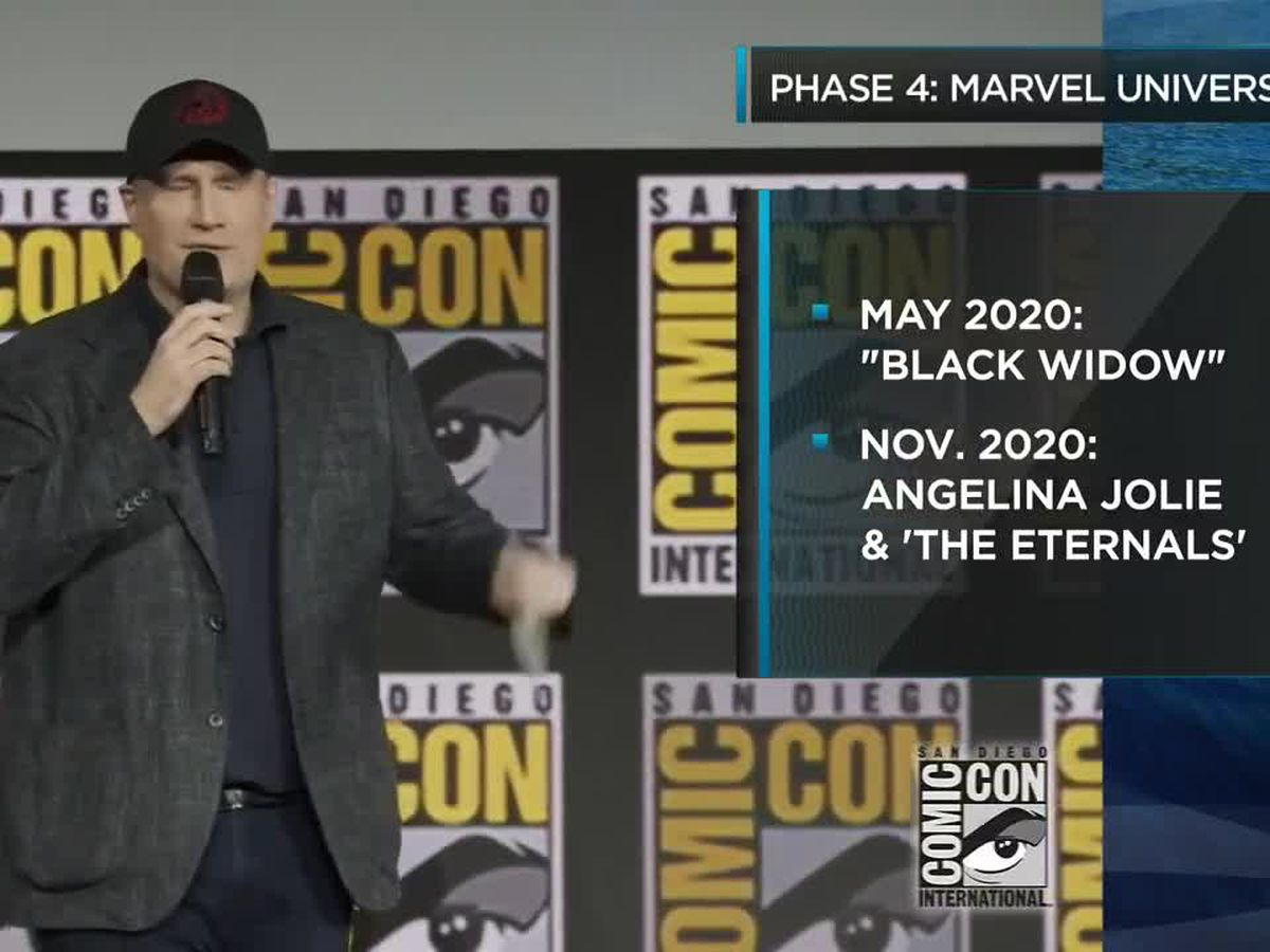 Entertainment: Marvel Universe Announces Phase 4 Highlights