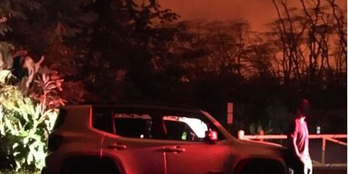 Number of people cited for loitering in the lava disaster zone grows to 18