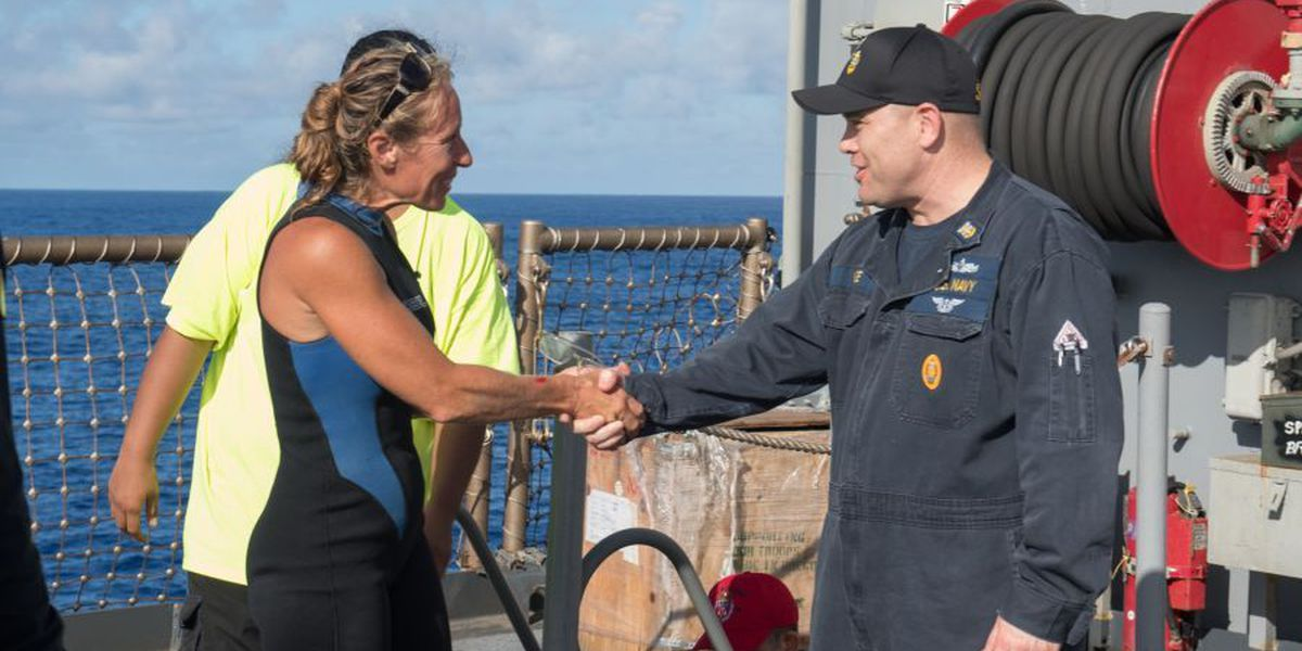 PHOTOS: 2 Hawaii women, 2 dogs rescued after months at sea