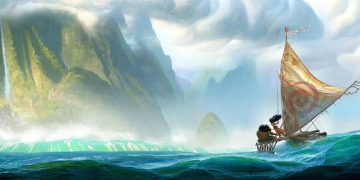 New sketches released of highly anticipated Disney movie 'Moana'