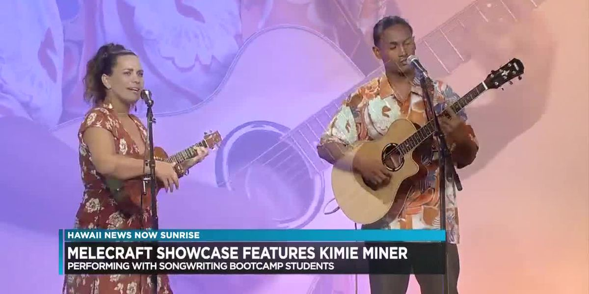 Kimie Miner to perform with students from MeleCraft Songwriting boot camp