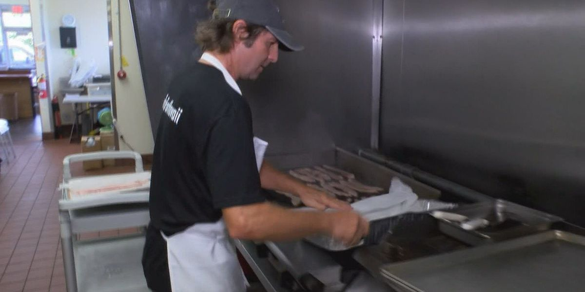 Team of chefs cook love into hundreds of meals for lava evacuees