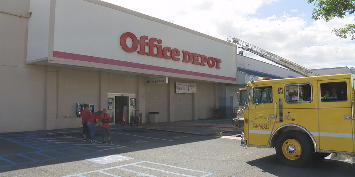 HFD: Fire at office supply store in Kalihi was intentionally set