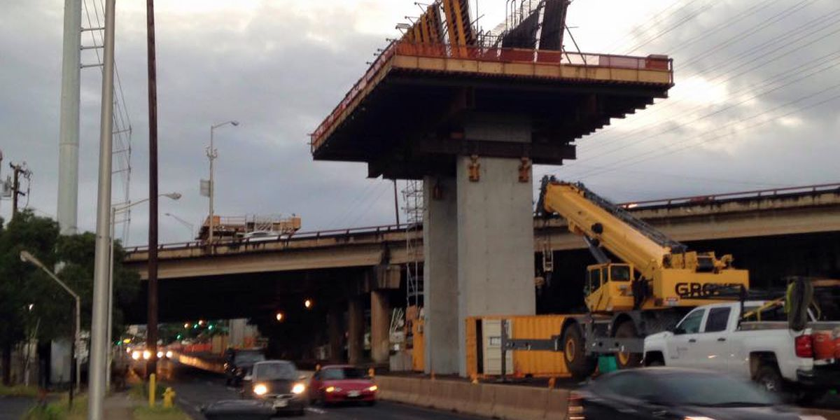 Rail work will start soon over H-1 in Aiea