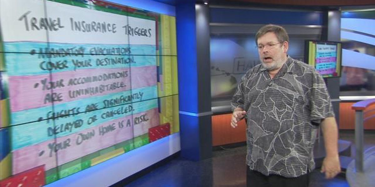 Business Report: Travel insurance and the lava