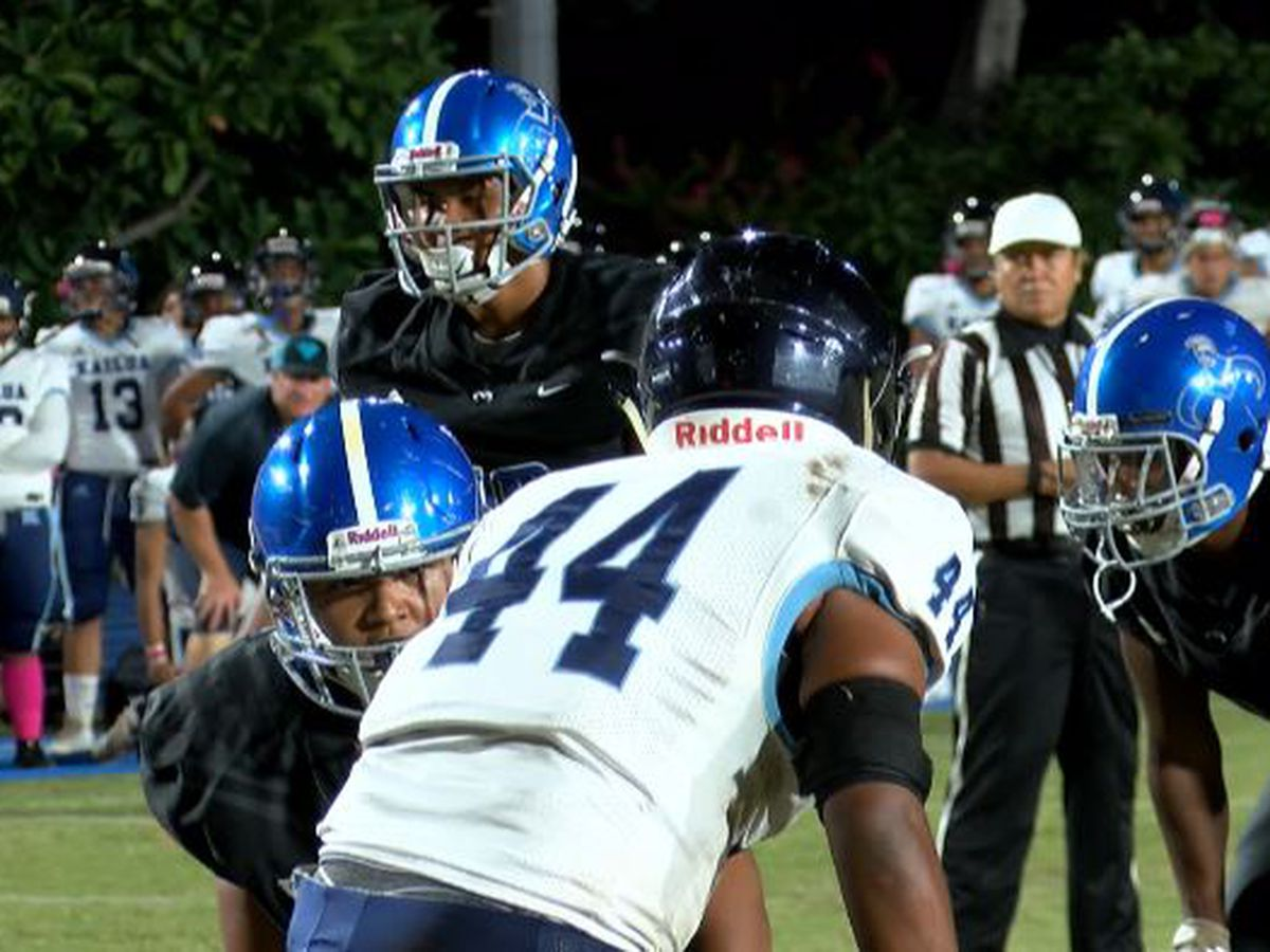 High school football season in Hawaii postponed until January