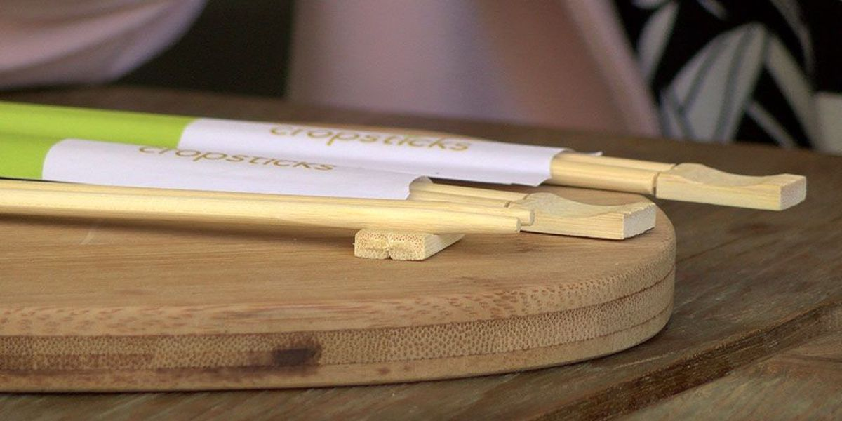 Hawaii woman's simple invention aims to revolutionize chopsticks