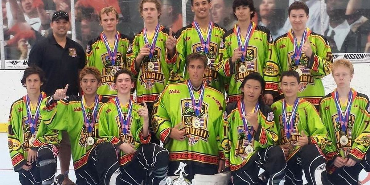 Team Hawaii wins gold at AAU Junior Olympics for inline hockey