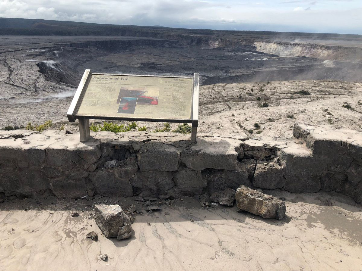 Visitor numbers back to pre-eruption averages at Hawaii Volcanoes National Park