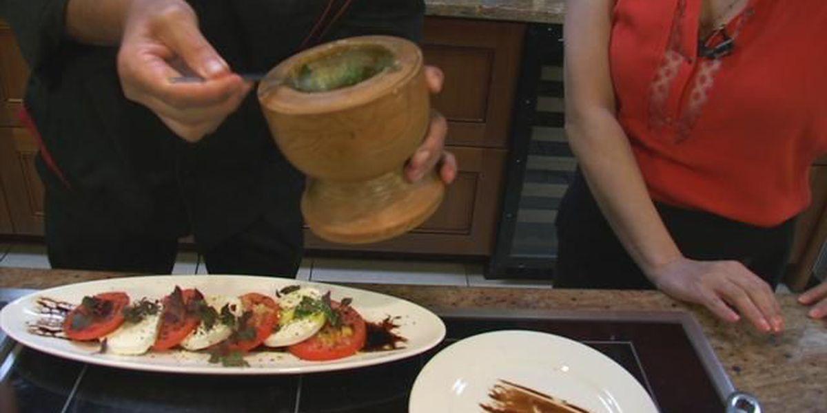 Kitchen Creations: Hauula Tomato Salad with Mac Nut Pesto