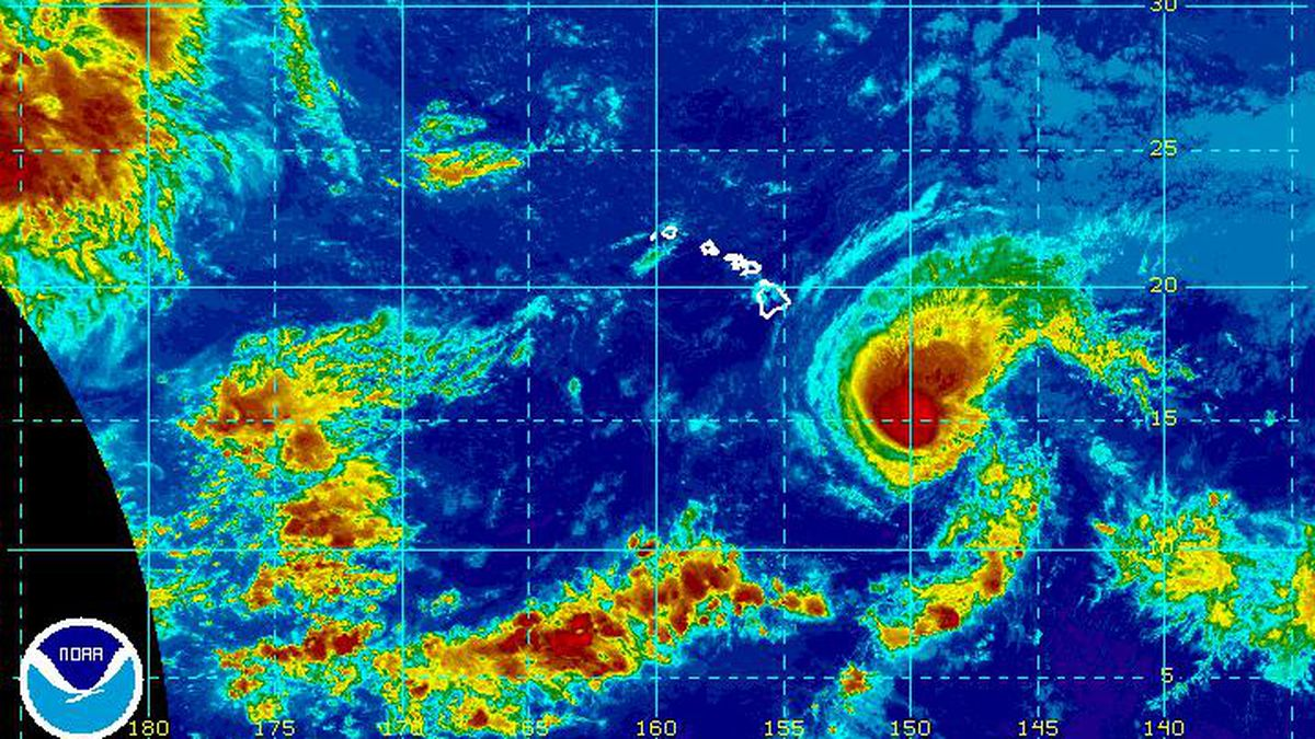 A 'near normal' hurricane season wraps up in the Central Pacific