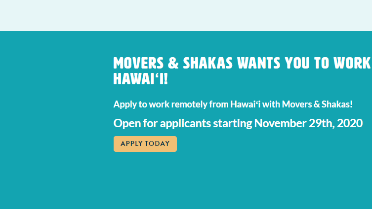 New program aims to entice mainland employees to work remotely in Hawaii