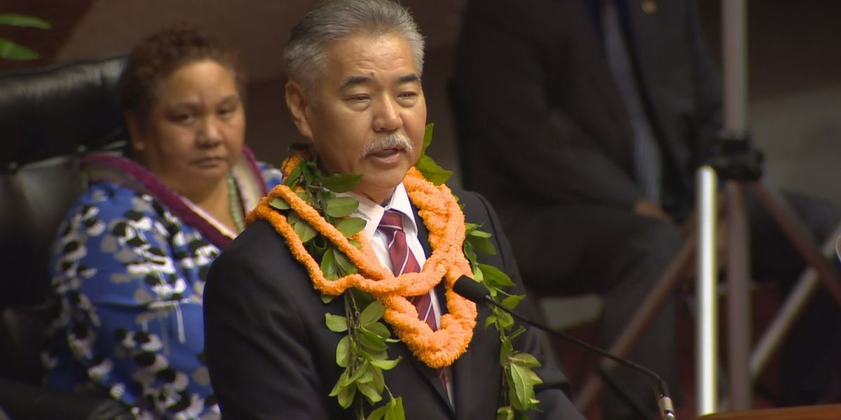 Ige begins State of the State with moment of silence for fallen officers