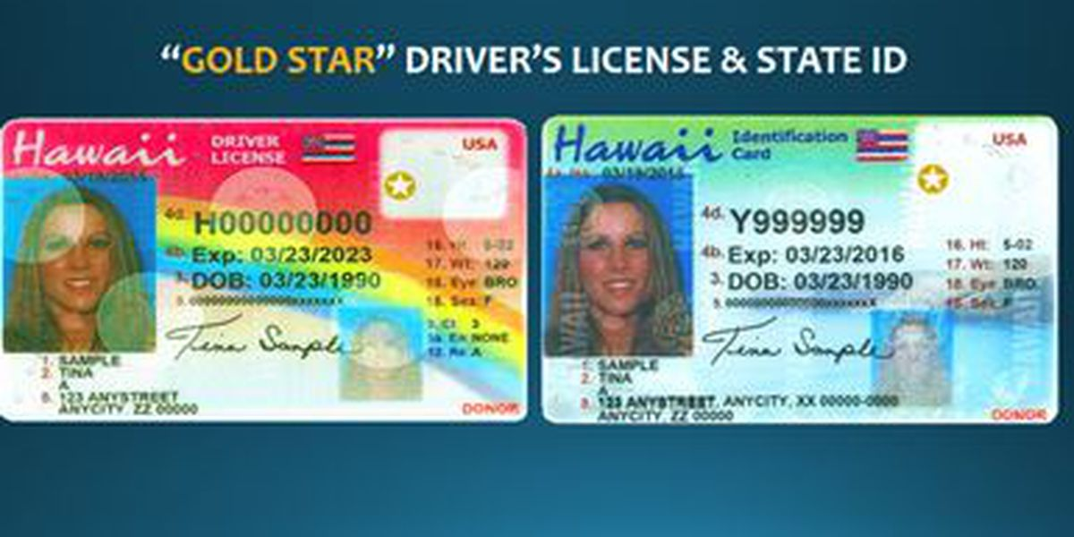 Come 2020, your Hawaii license might not work to get you on a plane
