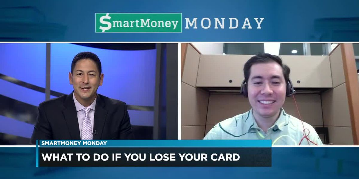 SmartMoney Monday: What to do if you lose your card