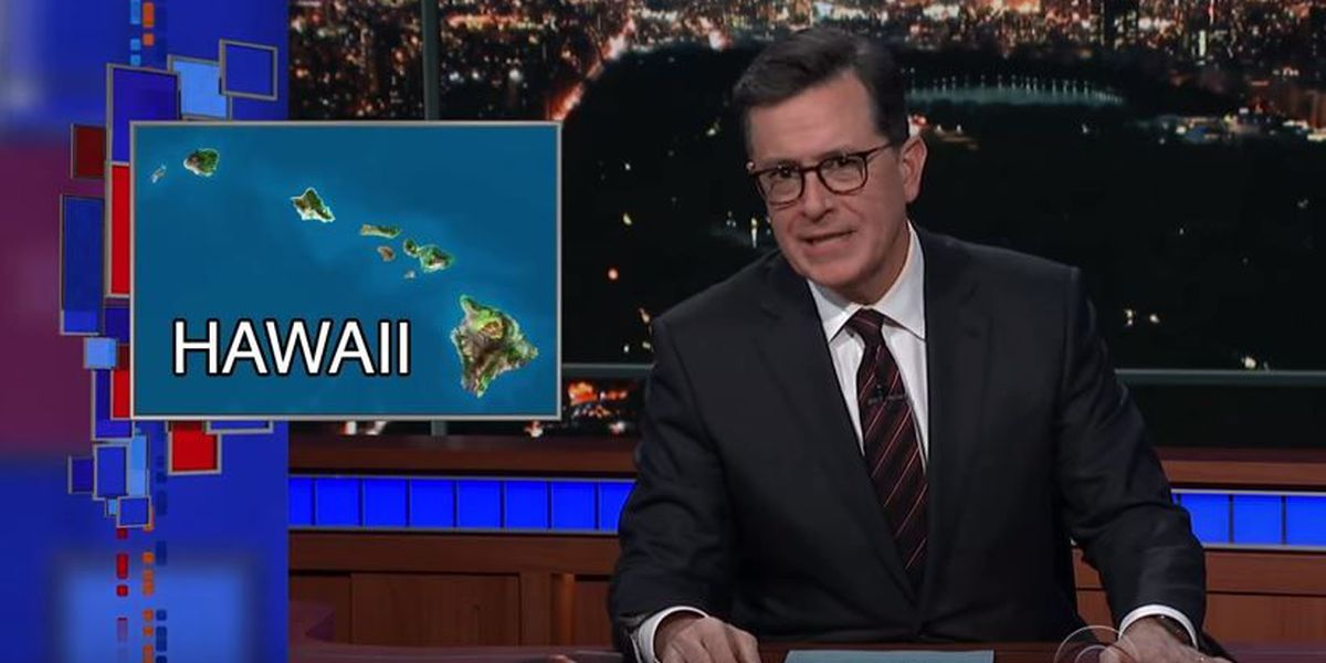 Hawaii's false missile alert takes center stage on late-night TV