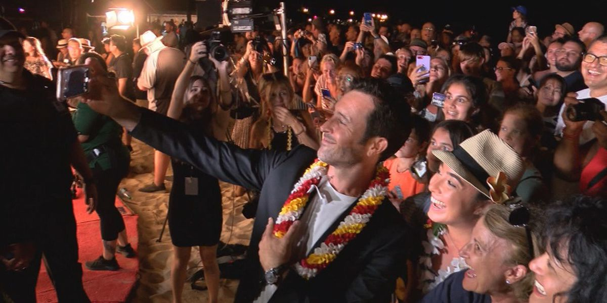 Thousands flock to Waikiki for 'Hawaii Five-0,' 'Magnum PI' red carpet premiere