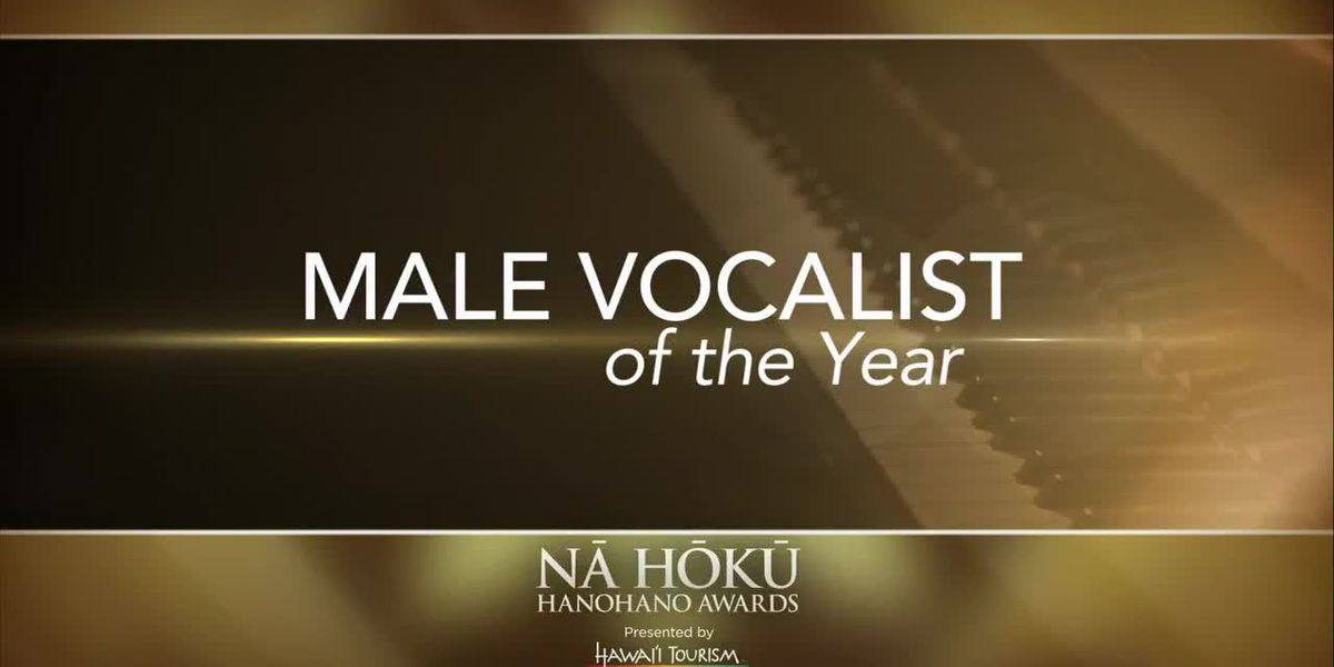 2019 Na Hoku Hanohano Awards: Male Vocalist of the Year