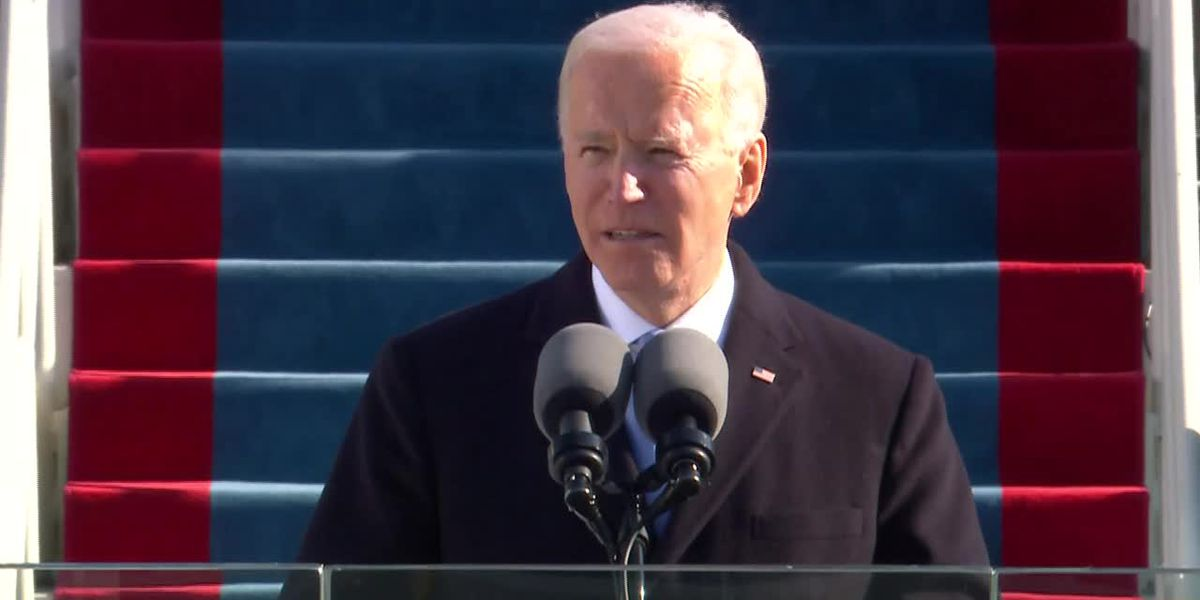 Biden at inauguration: Democracy prevailed