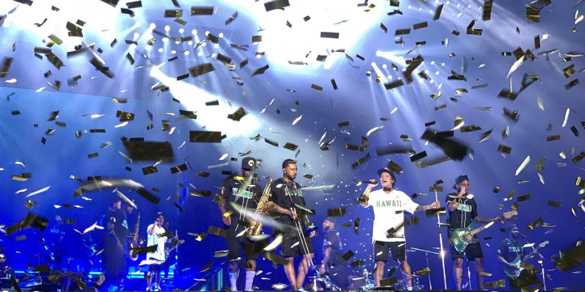Aloha Bruno! Mars wraps up highly successful 24K Magic tour at Aloha Stadium