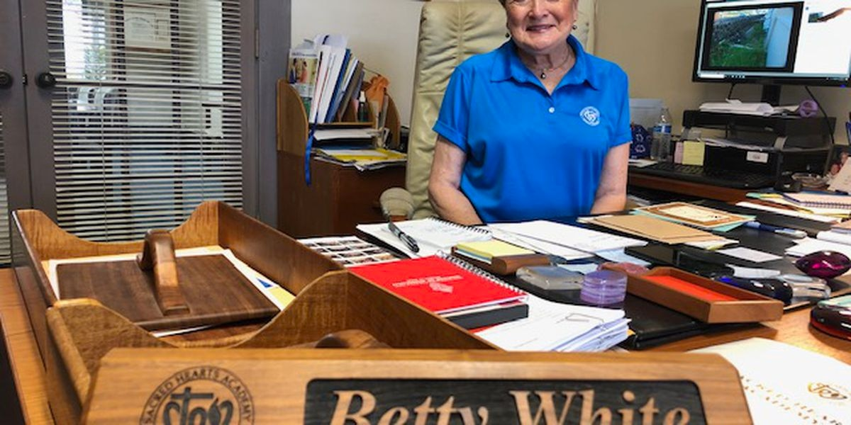 Betty White (no, not that one) says goodbye to Sacred Hearts after 48 years