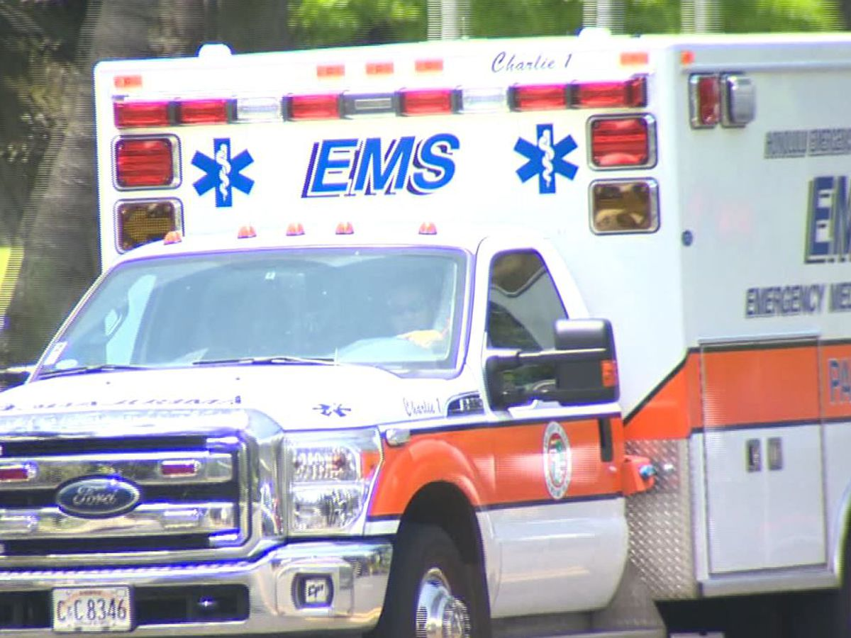 2 EMS workers left bloody after woman allegedly attacked them inside ambulance