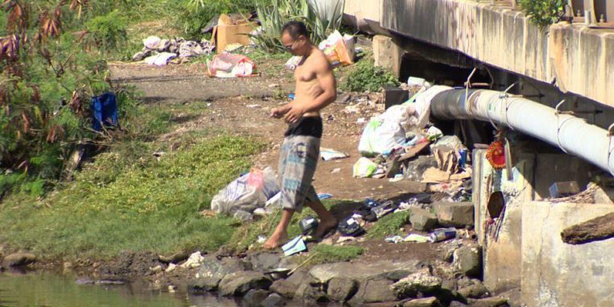 After huge sweep of encampments under Nimitz viaduct, some squatters return