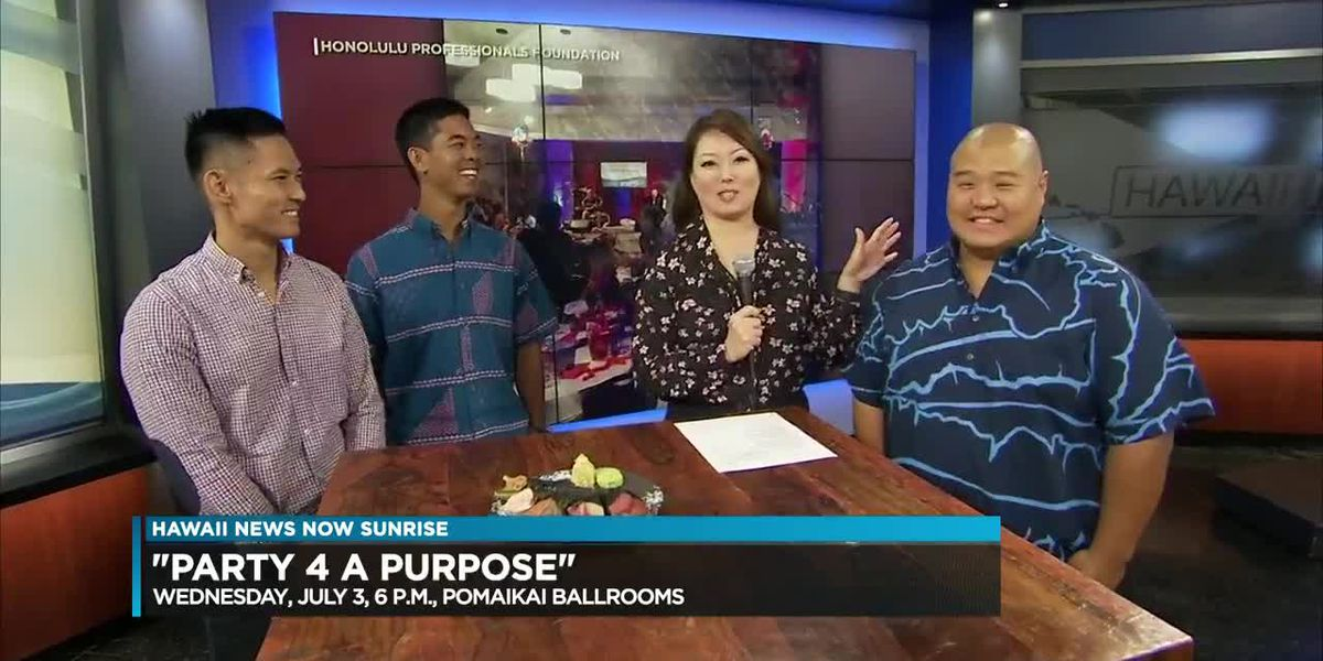 Party for a purpose fundraiser to benefit local nonprofits