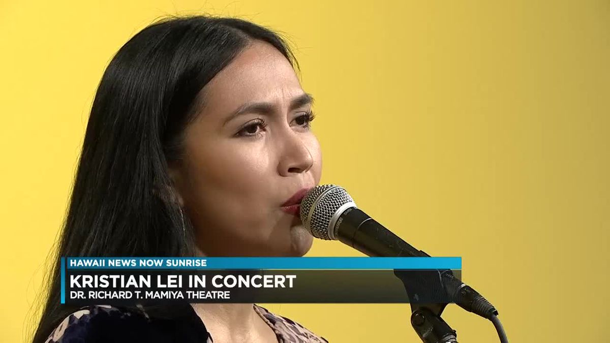 Kristian Lei's upcoming concert showcases best of Broadway, Hawaiian, holiday music