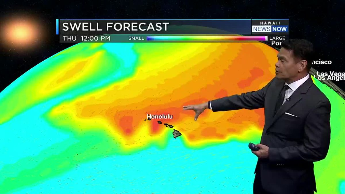 First Alert Web Forecast for Sunday