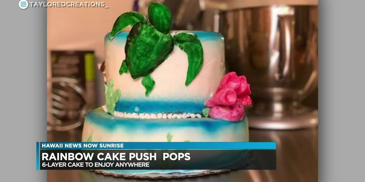 Taylor Inouye is back and has a sweet cake recipe to share