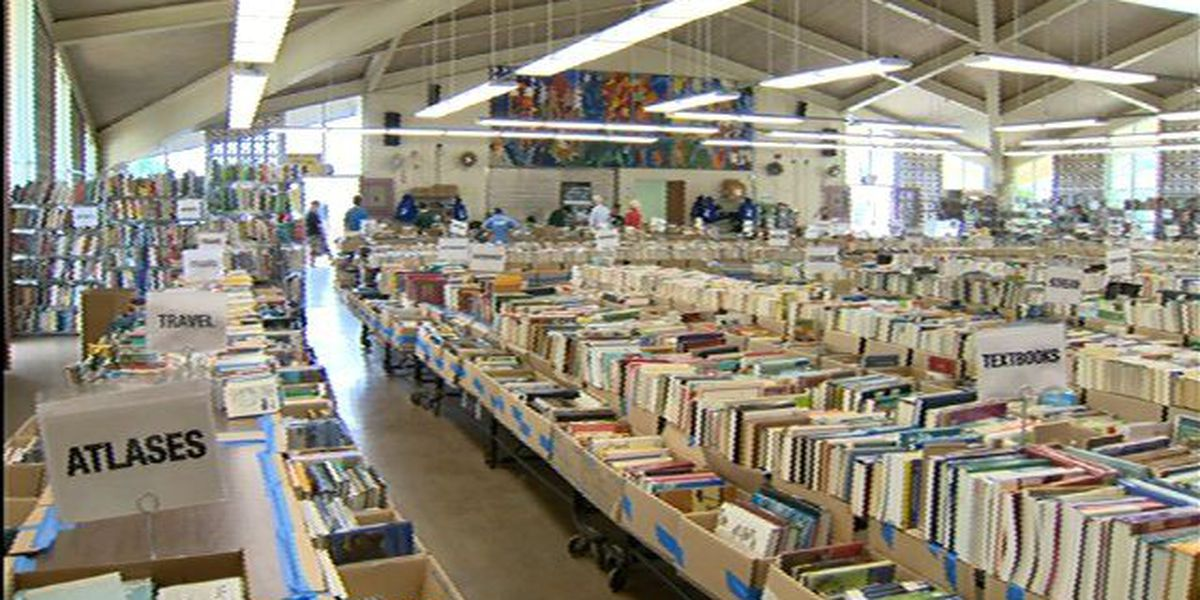 Annual book sale to benefit public libraries starts Saturday